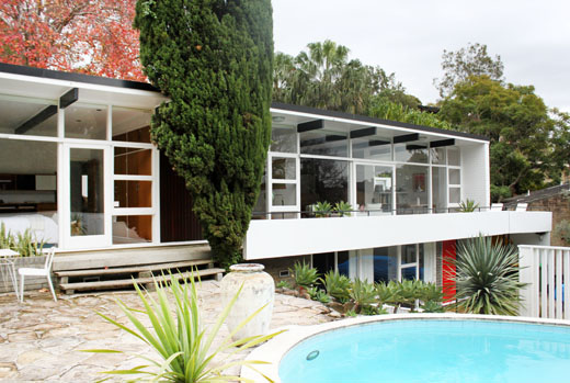 Tim Ross and family - The Design Files | Australia's most por ... Guest Pool House Designs Mid Century on carriage house guest house designs, hacienda guest house designs, southwestern guest house designs, ranch guest house designs,