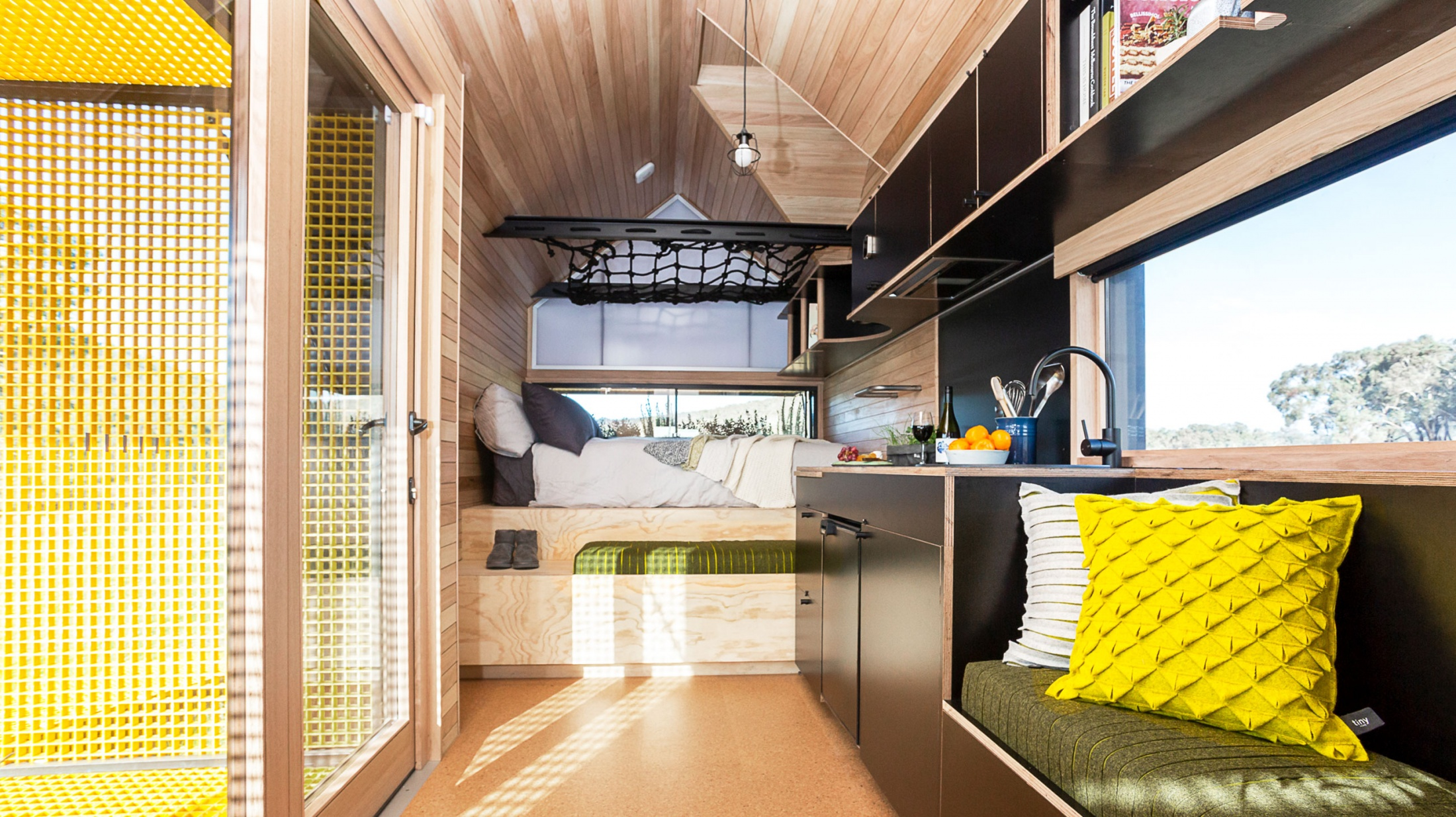 Tiny Home Designs Australia: A Tiny Home Designed By Peter Maddison, Open This Weekend