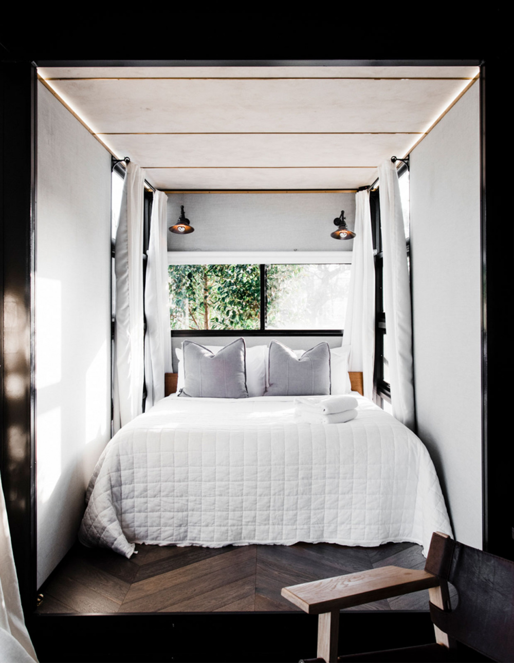 A Micro Hotel Room Inside An Upcycled Shipping Container